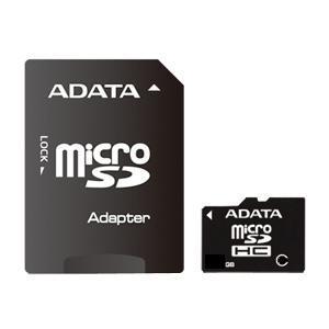 A-DATA micro SDHC 8 GB class 4 (AUSDH4GCL4-RA1)
