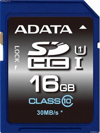 A-DATA SDHC 16 GB class 10 (ASDH16GUICL10-R)