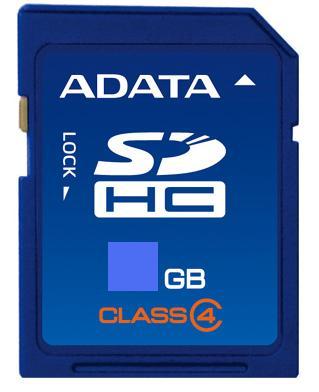 A-DATA SDHC 4 GB class 4 (ASDH4GCL4-R)