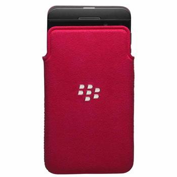 ACC-49282-202 BlackBerry MicroFibre Pouzdro Pocket pro Z10 Red (EU Blister)