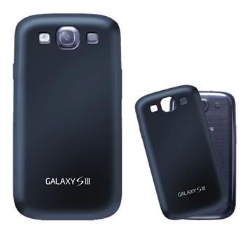 BACKCOVSMGS3B Samsung Original Zadní Pouzdro pro (i9300/S3 i9301 Neo) Blue (EU Blister)