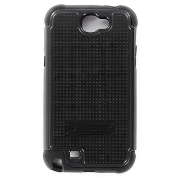 Ballistic Shell Gel Ochranné Pouzdro Black pro Samsung Note2 N7100 (EU Blister)