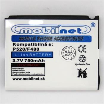 Batéria mobilNET Samsung F480/P520 Li-ion 750mAh