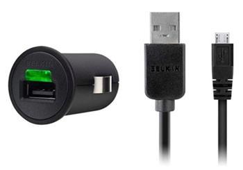 Belkin microUSB autodobíječ na USB (EU Blister)