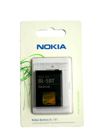 BL-5BT Nokia baterie 860mAh Li-Ion (2600c,7510 Supernova)