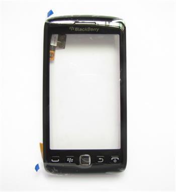 BlackBerry 9860 Black Přední Kryt vč. Dotyku