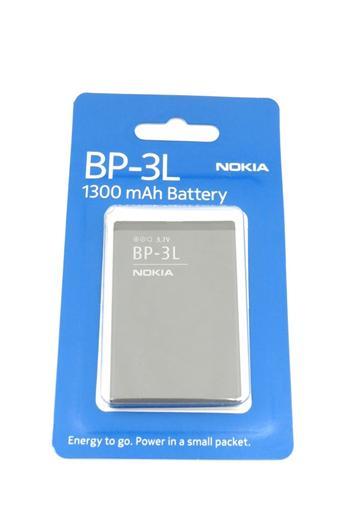 BP-3L Nokia baterie 1300mAh Li-Ion (EU Blister 1:2) (Nokia 603,710 Lumia)