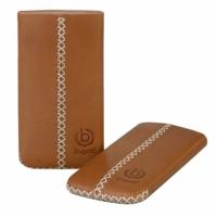 Bugatti kožené pouzdro Cross Brown pro Samsung i9100 (Galaxy S II)