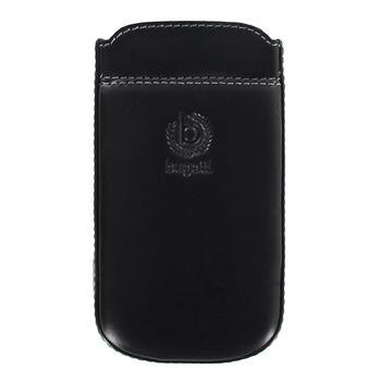 Bugatti Pure Premium Black Kožené Pouzdro pro Samsung i8190 S3mini, S3 mini i8200 VE