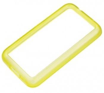 CC-1056 Nokia Lumia 620 Silikonové pouzdro Yellow (EU Blister)