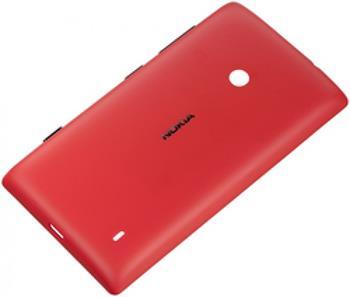 CC-3068 Nokia Lumia 520 Ochranný Kryt Red (EU Blister)
