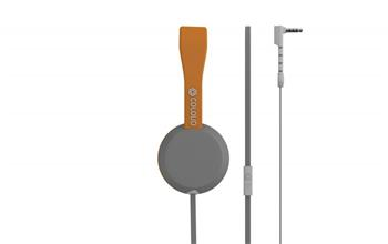 Coloud Stereo Headset Knock Blocks Grey/ Orange