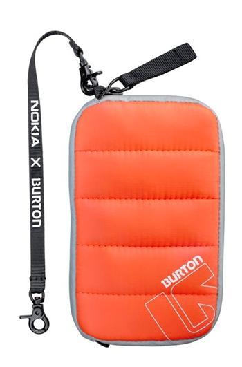 CP-614 BURTON Pouzdro Zipper Orange XL (EU Blister)