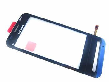 Dotykové sklíčko Nokia C6-00 black originál