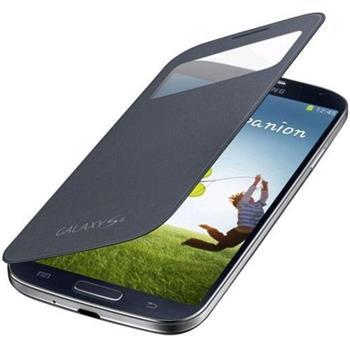 EF-CI950BBE Samsung Flip Pouzdro S-View pro Galaxy S IV (i9500) Čierne (EU Blister)