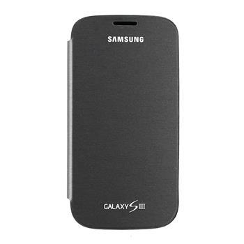 EFC-1G6FGE Samsung Flip Pouzdro pro Galaxy S III (i9300/S3 i9301 Neo) Titanium (EU Blister)