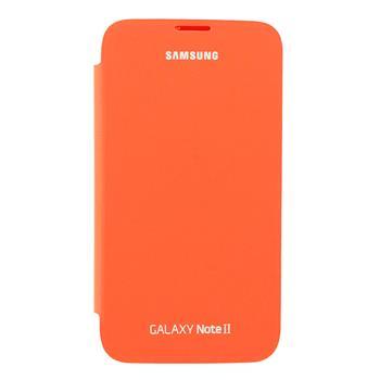 EFC-1J9FO Samsung Flip Pouzdro pro Note 2 (N7100) Orange