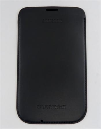 EFC-1J9LB Samsung Kožené Pouzdro pro Note 2 (N7100) Navy Blue (Bulk)
