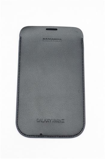 EFC-1J9LB Samsung Kožené Pouzdro pro Note 2 (N7100) Navy Blue (EU Blister)