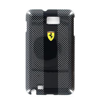 FECBGNBL Ferrari Zadní Kryt Samsung N7000 Note Carbon Black