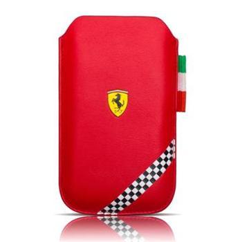 FEFOSLLR Ferrari Formula 1 Universal Kožené Pouzdro Red vel. L