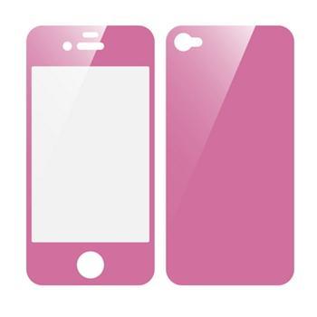 Fólia na iPhone 4G fullbody ružová