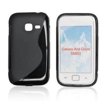 ForCell Zadní Kryt Lux S Black pro Samsung S6802