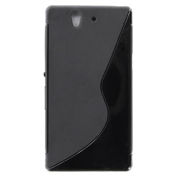 ForCell Zadní Kryt Lux S Black pro Sony C6603 Xperia Z