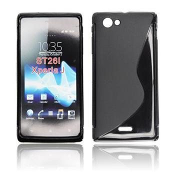 ForCell Zadní Kryt Lux S Black pro Sony ST21i