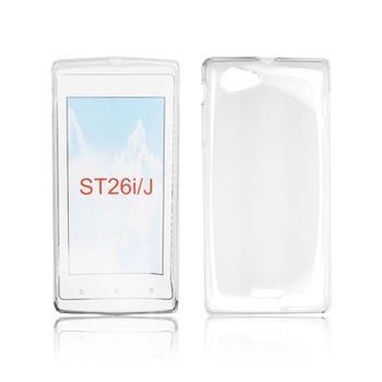 ForCell Zadní Kryt Lux S Transparent pro Sony ST26i