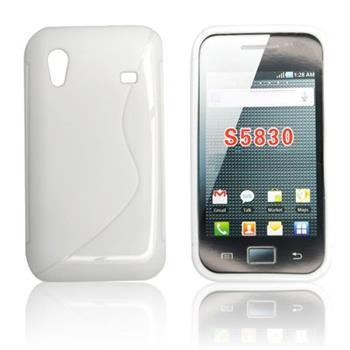 ForCell Zadní Kryt Lux S White pro Samsung S5830
