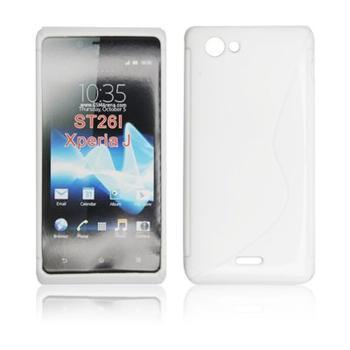 ForCell Zadní Kryt Lux S White pro Sony ST26i