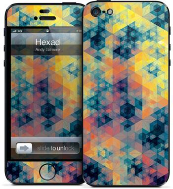 GelaSkins Hexad iPhone 5/5S/SE