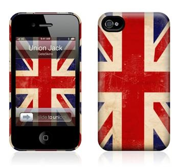 GelaSkins Union Jack The Hrdcase iPhone 4 / 4S