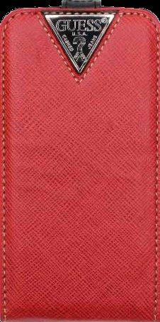 Guess flipové púzdro GUFLS3CRE pre Samsung Galaxy S3 i9300, červená