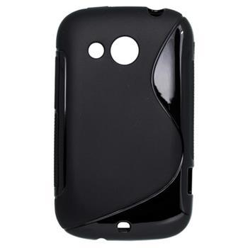 Gumené puzdro HTC Desire C čierne