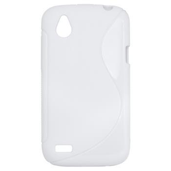 Gumené puzdro HTC Desire V / Desire X biele