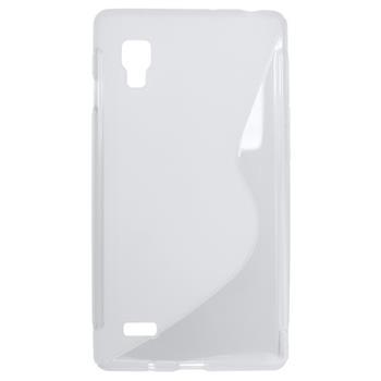 Gumené puzdro LG Optimus L9 white