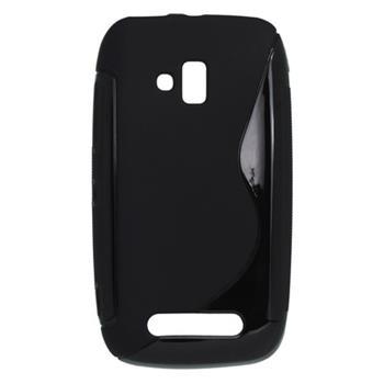 Gumené puzdro Nokia Lumia 610 čierne