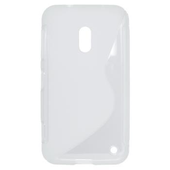 Gumené puzdro Nokia Lumia 620 biele