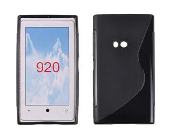 Gumené puzdro Nokia Lumia 920 Čierne
