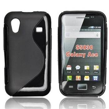 Gumené puzdro Samsung Galaxy Ace S5830 smoke