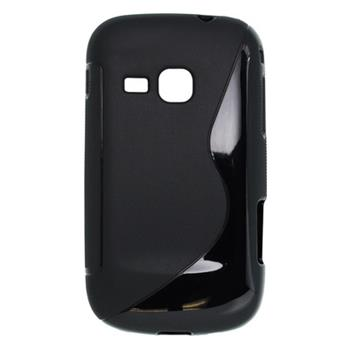 Gumené puzdro Samsung Galaxy Mini 2 S6500 čierne