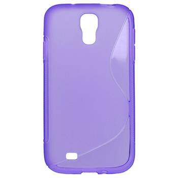Gumené puzdro Samsung i9500 Galaxy S4 fialové