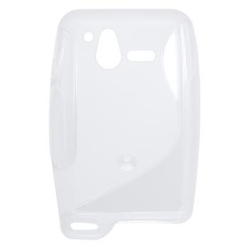 Gumené puzdro Sony Ericsson Xperia Active ST17i biela