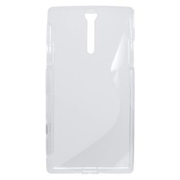 Gumené puzdro Sony Xperia S LT26i biele