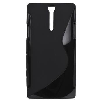 Gumené puzdro Sony Xperia S LT26i čierna