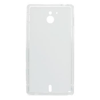 Gumené puzdro Sony Xperia Sola MT27i biele