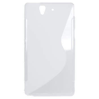Gumené puzdro Sony Xperia Z(C6603) transparentné