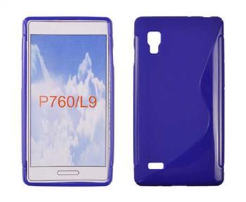 Gumené puzdro Swift LG L9 / P760 Modré